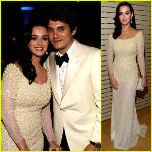 Katy Perry & John Mayer - Clive Davis Pre-Grammy Gala 2013