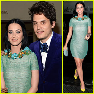 Katy Perry & John Mayer: Sony Music Grammy After Party!