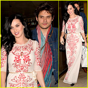 Katy Perry & John Mayer: Valentine's Day at The Cut!