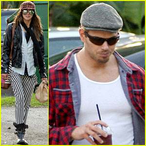 Kellan Lutz & Sharni Vinson: Snacks & Smoothies!
