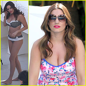 Kelly Brook Post Split Bikini Photo Shoot Bikini Kelly Brook