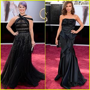 Kelly Osbourne & Giuliana Rancic - Oscars 2013 Red Carpet