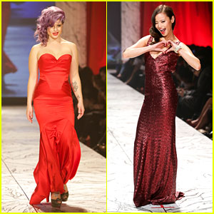 Kelly Osbourne & Jamie Chung: Red Dress Fashion Show 2013