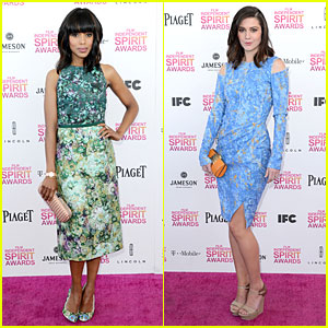 Kerry Washington & Mary Elizabeth Winstead - Independent Spirit Awards 2013