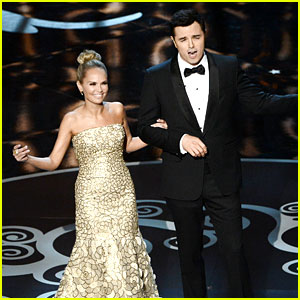 Kristin Chenoweth & Seth MacFarlane: Oscars Closing Number 2013 - Watch Now!