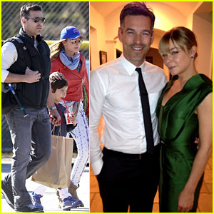 LeAnn Rimes & Eddie Cibrian - Oscars 2013 Parties