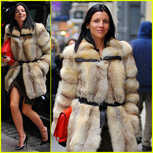 Liberty Ross: Fur Coat Soho Shopping!