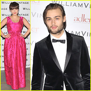 Lily Allen & Douglas Booth: BAFTA William Vintage Dinner!