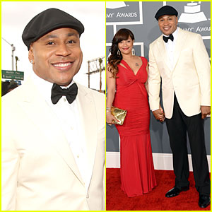 LL Cool J - Grammys 2013 Red Carpet