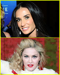 Madonna's Oscar Party: Demi Moore Not Snubbed!