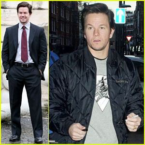 Mark Wahlberg: 'Broken City' Rome Photo Call & Radio Visit