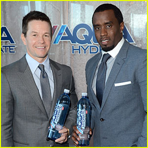 Mark Wahlberg & Sean Combs: AQUAhydrate Press Conference!