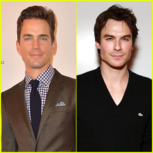 Matt Bomer & Ian Somerhalder: Lacoste/GQ Super Bowl Party!