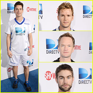 Matt Bomer & Ryan Kwanten: Celebrity Beach Bowl Party Guys!