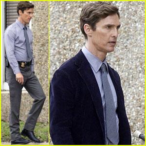 Matthew McConaughey: 'True Detectives' Set Break