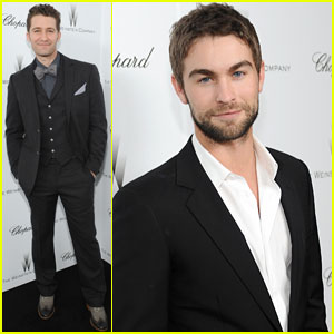 Matthew Morrison & Chace Crawford: Weinstein Pre-Oscars Party 2013