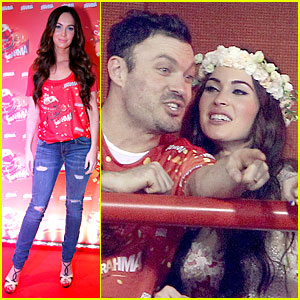 Megan Fox & Brian Austin Green: Brahma Party in Rio!