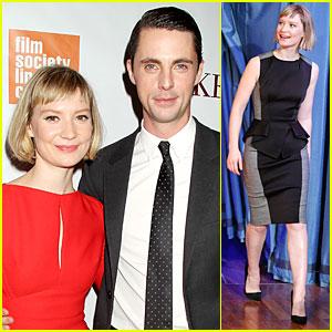 Mia Wasikowska & Matthew Goode: 'Stoker' New York Screening!