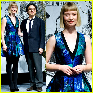 Mia Wasikowska: 'Stoker' South Korea Press Conference