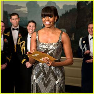 Michelle Obama - Oscars 2013 Surprise Presenter!