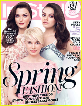 Michelle Williams & Mila Kunis Cover 'InStyle' March 2013