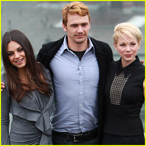 Michelle Williams & Mila Kunis: 'Oz the Great & Powerful' Moscow Photo Call!