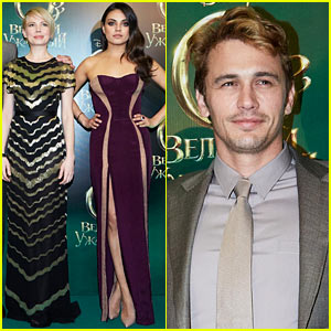 Michelle Williams & Mila Kunis: 'Oz the Great & Powerful' Moscow Premiere