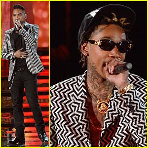 Miguel & Wiz Khalifa: Grammys 2013 Performance - WATCH NOW!
