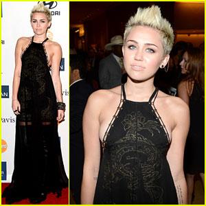 Miley Cyrus - Clive Davis Pre-Grammy Gala 2013