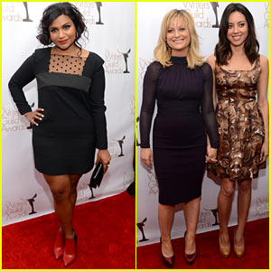 Mindy Kaling & Amy Poehler: Writers Guild Awards 2013 Red Carpet