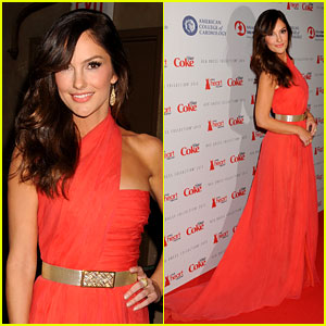 Minka Kelly: Heart Truth Red Dress Fashion Show 2013!
