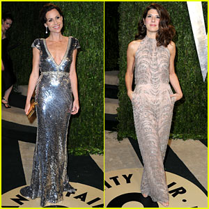 Minnie Driver & Marisa Tomei - Vanity Fair Oscars Party 2013