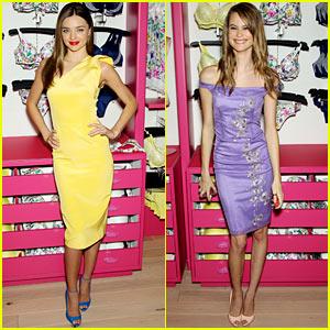 Miranda Kerr & Behati Prinsloo: Victoria's Secret Fabulous Promo!