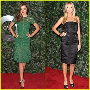 Miranda Kerr & Heidi Klum: QVC Style Party