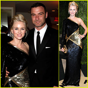 Naomi Watts & Liev Schreiber - Vanity Fair Oscars Party 2013