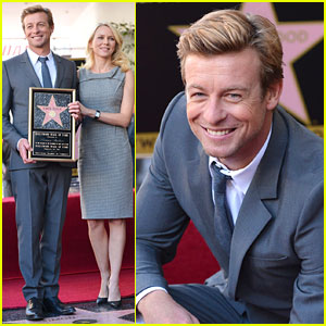 Naomi Watts: Simon Baker's Walk of Fame Ceremony!
