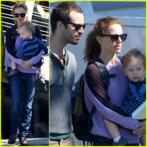 Natalie Portman & Benjamin Millepied: Whale Watching with Aleph!