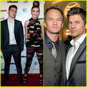 Neil Patrick Harris & Karmin: Billboard After Party!