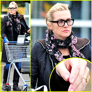 Newlywed Kate Winslet: Wedding Ring Sighting!