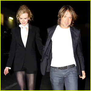 Nicole Kidman & Keith Urban: Valentine's Day Dinner Date!