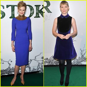 Nicole Kidman &#038; Mia Wasikowska: 'Stoker' London Screening!