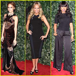 Nicole Richie & Jennifer Hudson: QVC Style Party