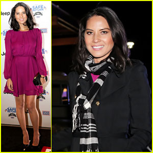Olivia Munn: Jeep Operation Safe Return Launch Event!