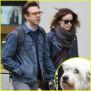 Olivia Wilde & Jason Sudeikis: Big Apple Dog Walk