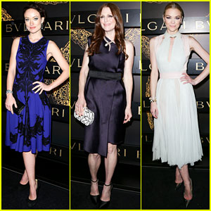 Olivia Wilde & Julianne Moore: Bulgari Serpenti Event!