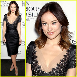 Olivia Wilde: Revlon ColorSilk Buttercream Launch!