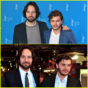 Paul Rudd & Emile Hirsch: 'Prince Avalanche' in Berlin!