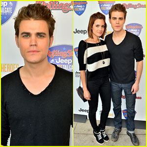 Paul Wesley & Torrey DeVitto: Super Bowl Tailgate Party!