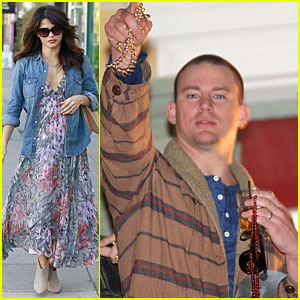 Pregnant Jenna Dewan & Channing Tatum: Separate State Outings!