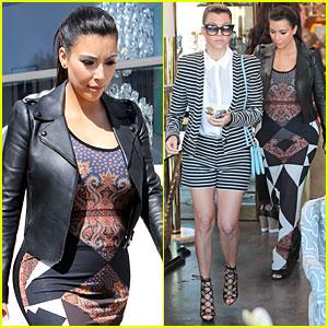 Pregnant Kim Kardashian's Rep Talks About Baby's Gender!